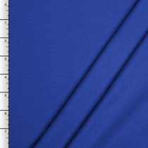 Royal Blue Midweight Stretch Ponte De Roma Solid