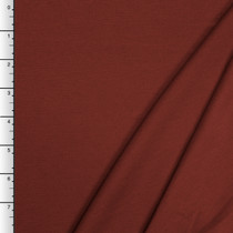 Rust Midweight Stretch Ponte De Roma Solid
