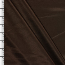 Brown Midweight Bridal Satin