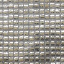 Silver Square Sequin Fabric