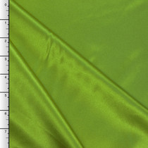 Lime Green Midweight Bridal Satin