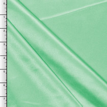 Mint Green Midweight Bridal Satin