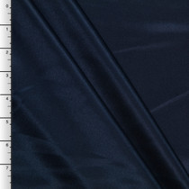 Navy Blue Midweight Bridal Satin