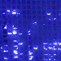 Royal Blue Square Sequin Fabric
