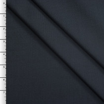 Karen Klein Navy Blue Textured Lightweight Poly/Rayon Suiting