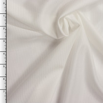White on White Stripe Japanese Poly Lining