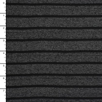 Bland and Heather Charcoal Pencil Stripe Jersey