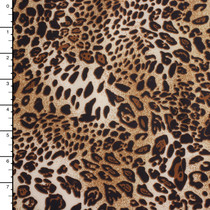 Leopard Print Techno Knit
