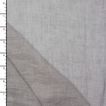 Sheer Taupe Natural Linen
