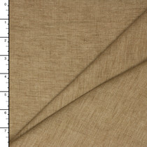 Tan Designer Textured Linen