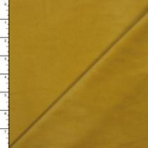 Mustard Cotton/Lycra Baby Wale Corduroy