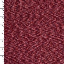 Deep Red Heather With Patterned Imprint Heavy Nylon/Lycra