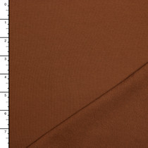 Caramel Midweight Organic Cotton Stretch French Terry