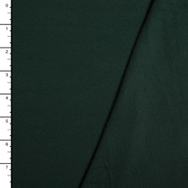 Forest Green Organic Cotton Stretch French Terry