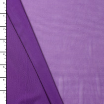 Purple 4-way Stretch Power Mesh