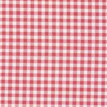 Gingham Plaid Pink Oilcloth