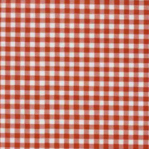 Gingham Plaid Red Oilcloth