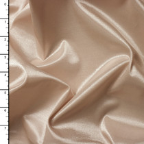 Nude 'Wet Look' Shiny 4-Way Black Nylon/Lycra