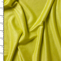 Chartreuse Shimmer Jersey Knit
