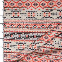 Patterned Stripe Jersey Knit #15241