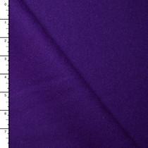 Purple Designer Wool Melton