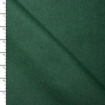 Hunter Green Designer Wool Melton