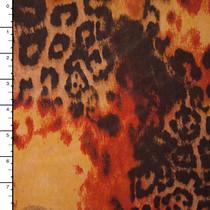 Rust Grunge Leopard ITY Knit