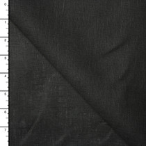 Black Lightweight 100% Linen