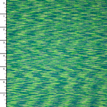Lime Teal Space Dyed 4-way Stretch Nylon/Lycra