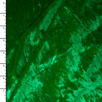 Green Shimmer Crushed Stretch Velvet