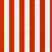 Stripes Red and White Oilcloth