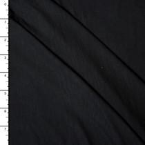 Black Bamboo Stretch Jersey Knit Fabric