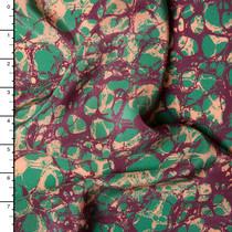 Designer Silk Crepe De Chine Print #15934