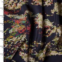 Designer Silk Crepe De Chine Print #15937