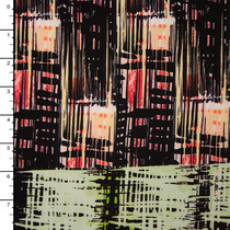 Designer Silk Crepe De Chine Print #15938