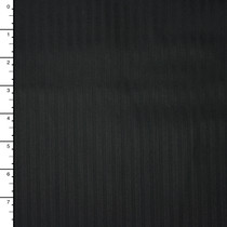 Robert Kaufman 'Raw and Refined' Black on Black Cotton Dobby Stripe