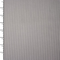 Grey on Grey Striped Stretch Twill