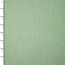 Chartreuse Periwinkle Two Tone Cotton/Linen Blend
