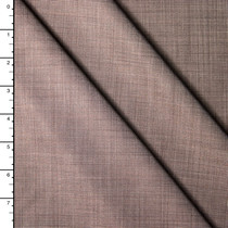 Designer Silk/Wool Stretch Pin Dot Suiting