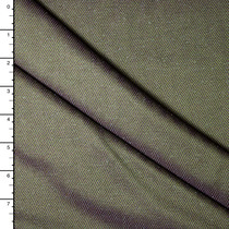 Olive and Purple Two Tone Herringbone Wool Suiting
