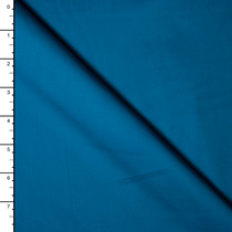 Jewel Tone Teal Stretch Midweight Cotton Sateen