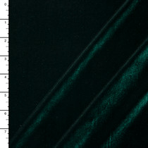 Hunter Green 4-way Stretch Velvet