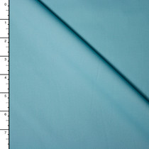 Light Tiffany Blue Stretch Cotton Sateen