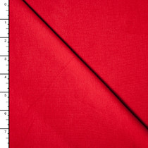 Red Premium Midweight Cotton Lycra Jersey Knit