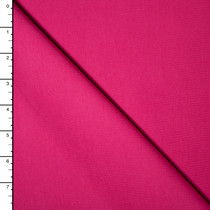 Hot Pink Premium Midweight Cotton Lycra Jersey Knit