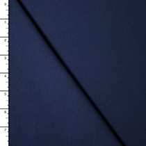 Navy Blue Premium Midweight Cotton Lycra Jersey Knit
