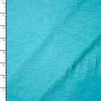 Aqua Soft Slubbed Midweight Jersey Knit