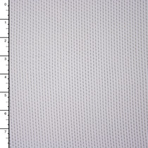White Stretch Cotton Netting
