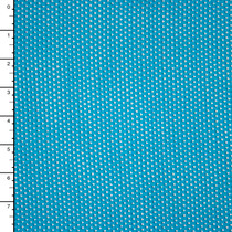 Bright Turquoise Stretch Cotton Netting