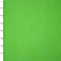 Bright Lime Stretch Cotton Netting
